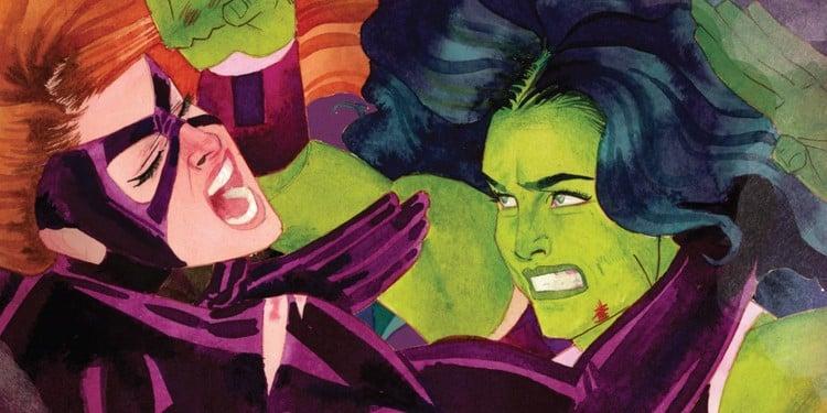 Titania and She-Hulk