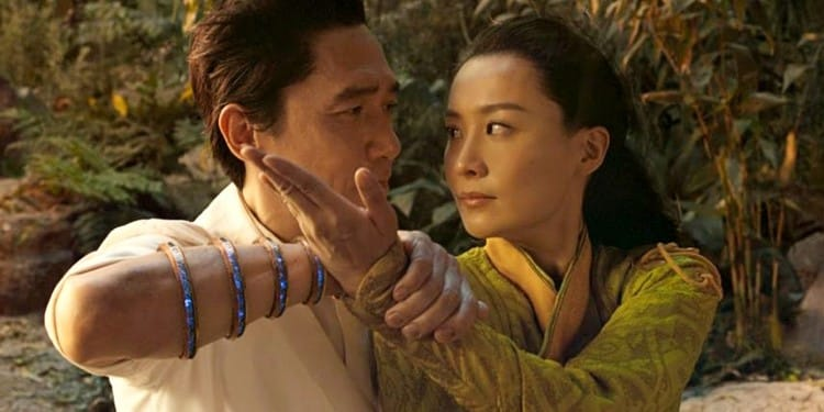 Tony-Leung and Fala-Chen star in one of the most beautiful scenes in Shang-Chi and the Legend of the Ten Rings.