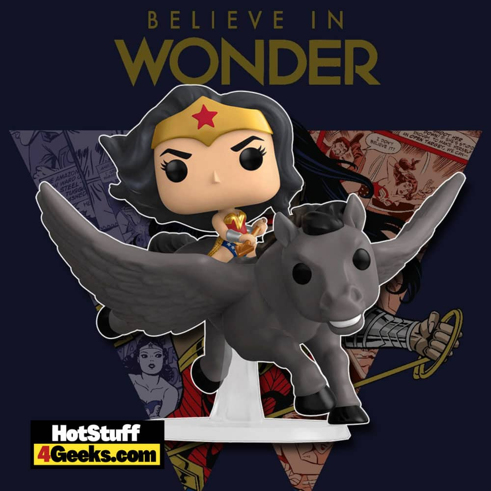 Funko Pop! DC Heroes Wonder Woman 80th: Riding Pegasus Wonder Woman Funko Pop! Vinyl Figure