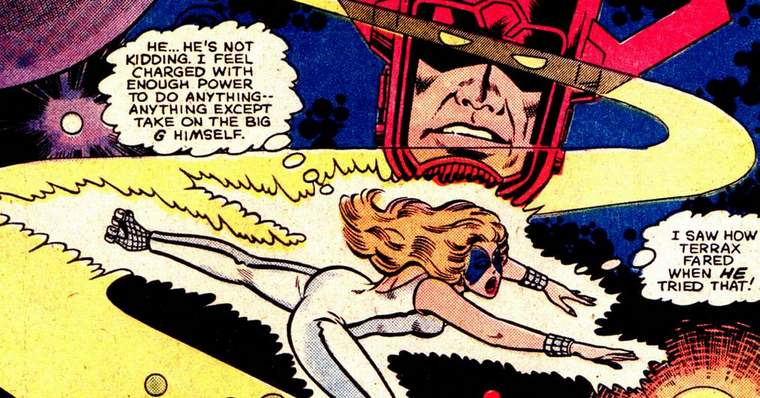 What If The Dazzler Had Become The Herald of Galactus? - What If? Vol. 1 #33