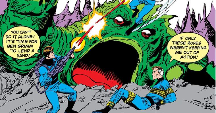 What If The Fantastic Four Had Not Gained Their Superpowers? - What If? Vol. 1 #36