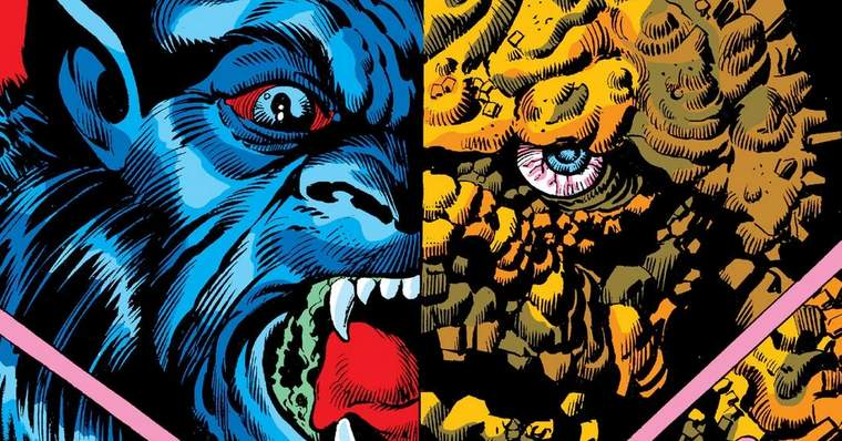 What If The Thing and the Beast Continued to Mutate? What If? Vol. 1 #37