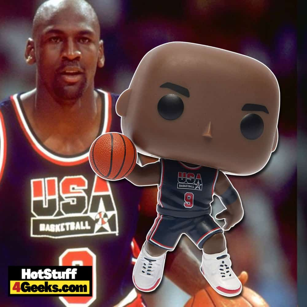 Funko Pop! Basketball - Michael Jordan 1992 USA Olympic Team Funko Pop! Vinyl Figure - Foot Locker Exclusive