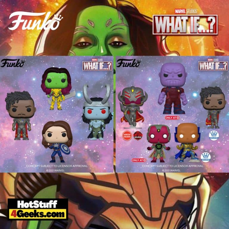 9 NEW What If… 9th Episode Funko Pops! (2021)