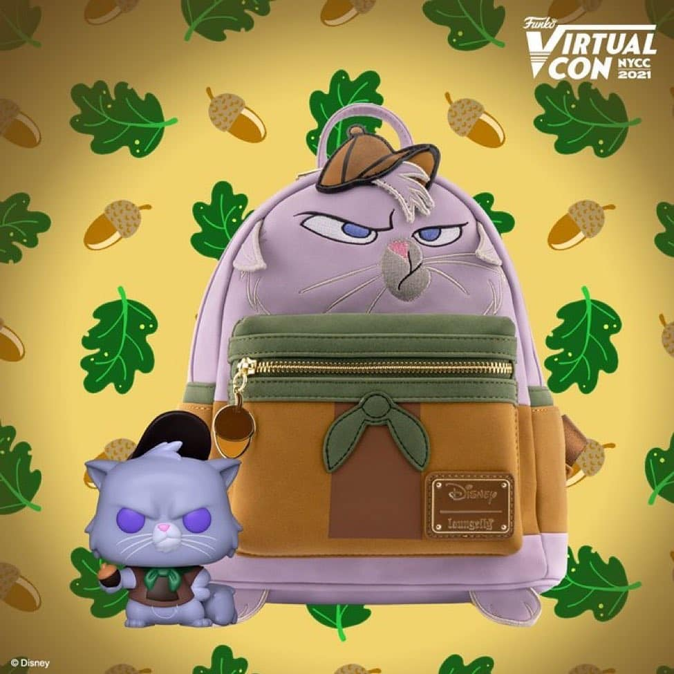 Disney Emperor's New Groove Yzma Cat Funko Pop! Vinyl Figure and Loungefly Mini Backpack Bundel Funko Virtual Con NYCC 2021 – BoxLunch Shared Exclusive