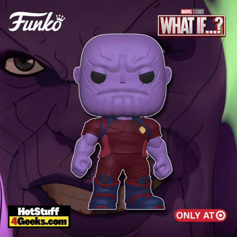 Funko POP! Marvel: What If…? – Ravager Thanos Funko Pop! Vinyl Figure – Target Exclusive