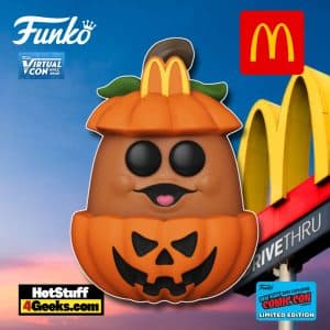 Funko Pop! Animation: McDonald's - Pumpkin Mcnugget Funko Pop! Vinyl Figure Funko Virtual Con NYCC 2021 – Golden Arches Unlimited Shared Exclusive