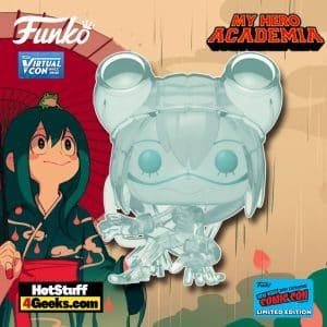 Funko Pop! Animation: My Hero Academia - Tsuyu Asui Translucent FunkoPop! Vinyl Figure Funko Virtual Con NYCC 2021 – Hot Topic Shared Exclusive