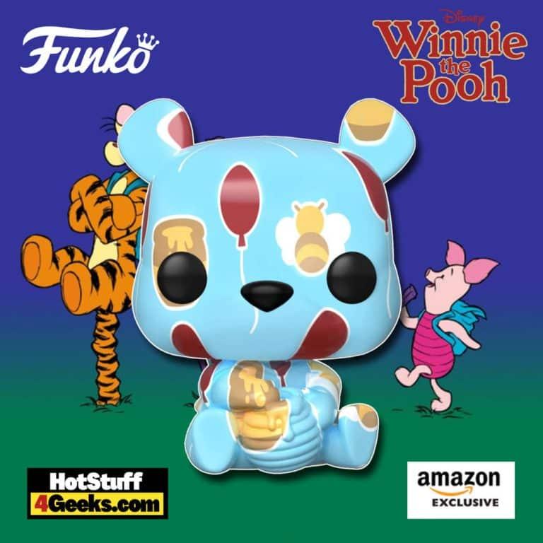 Funko Pop! Art Series: Disney Treasures of The Vault – Winnie The Pooh Funko Pop! Artist Series Vinyl Figure – Amazon Exclusive