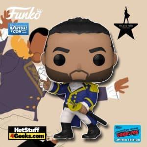 Funko Pop! Broadway: Hamilton - Lafayette Funko Pop! Vinyl Figure is a Funko Virtual Con NYCC 2021 – Amazon Shared Exclusive