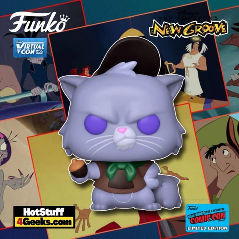 Funko Pop! Disney Emperor's New Groove Yzma Cat Funko Pop! Vinyl Figure Funko Virtual Con NYCC 2021 – BoxLunch Shared Exclusive