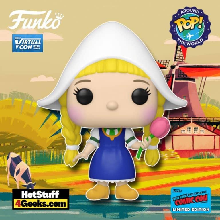 Funko Pop! Disney: It's a Small World - Netherlands Funko Pop! Vinyl Figure Funko Virtual Con NYCC 2021 – Funko Shop Shared Exclusive