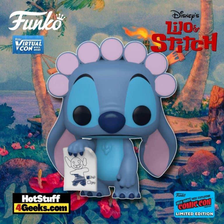 Funko Pop! Disney: Lilo and Stitch - Stitch in Rollers Funko Pop! Vinyl Figure Funko Virtual Con NYCC 2021 – BoxLunch Shared Exclusive