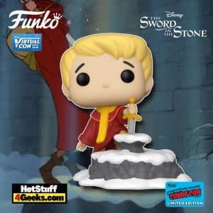 Funko Pop! Disney: The Sword in The Stone - Arthur Pulling Excalibur Funko Pop! Vinyl Figure Funko Virtual Con NYCC 2021 – Funko Shop Shared Exclusive