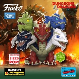 Funko Pop! Dungeons & Dragons - Tiamat Super Sized Funko Pop! Vinyl Figure is a Funko Virtual Con NYCC 2021 – GameStop Shared Exclusive