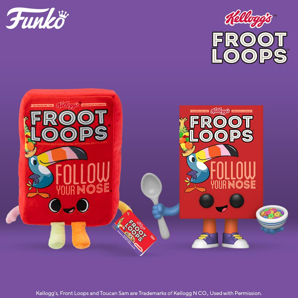 Funko Pop! Foodies Kelloggs - Froot Loops Cereal Box Funko Pop! Vinyl Figure