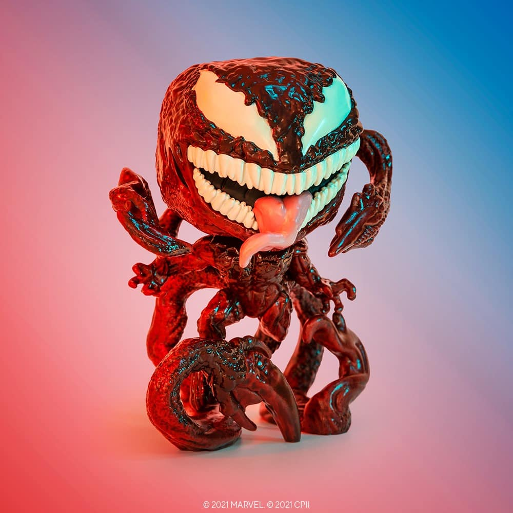 Funko Pop! Marvel: Venom Let There Be Carnage - Carnage Funko Pop! Vinyl Figure is a Funko Virtual Con NYCC 2021 – Walmart Shared Exclusive