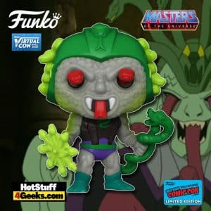 Funko Pop! Retro Toys: Masters of the Universe - Snake Face Funko Pop! Vinyl Figure is a Funko Virtual Con NYCC 2021 – GameStop Shared Exclusive