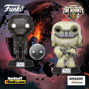 Funko Pop! Star Wars: Across The Galaxy - Moroff and K-2SO (Jedha) Funko Pop! Vinyl Figures - Amazon Exclusives