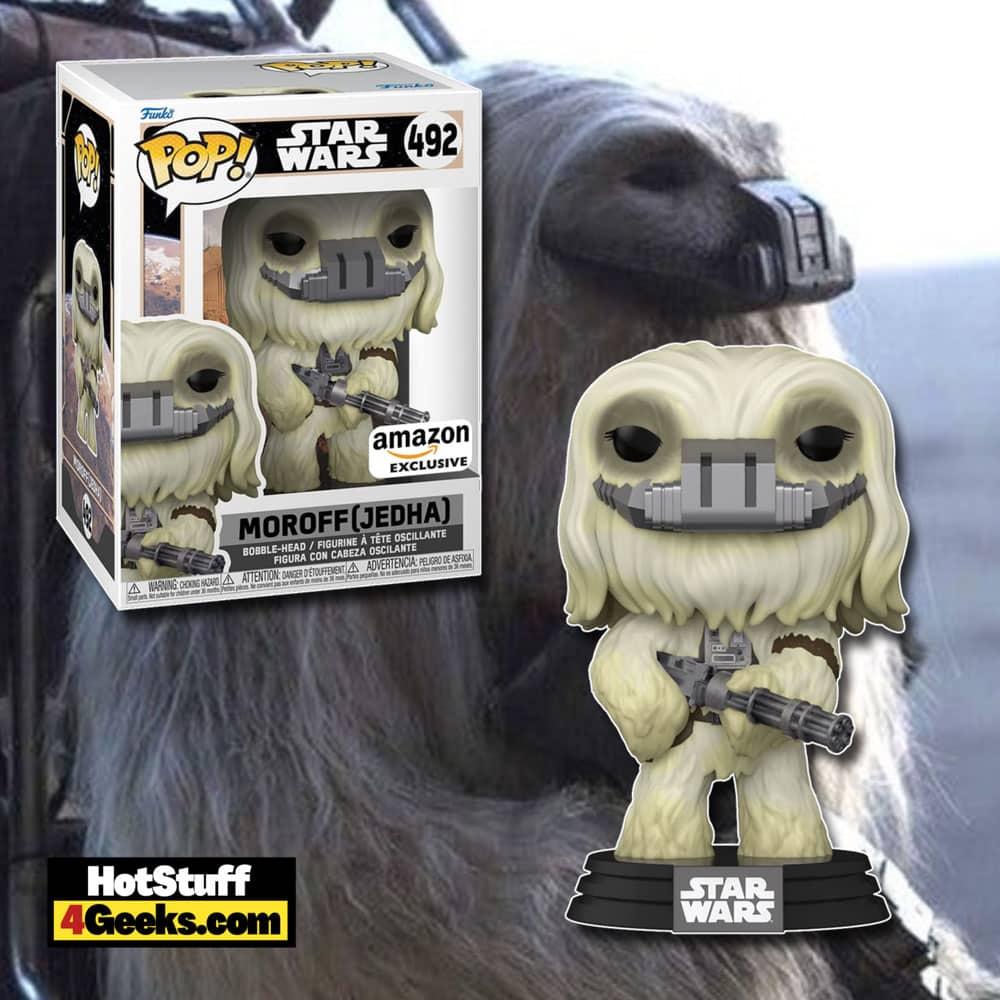 Funko Pop! Star Wars: Across The Galaxy - Moroff (Jedha) Funko Pop! Vinyl Figure - Amazon Exclusive