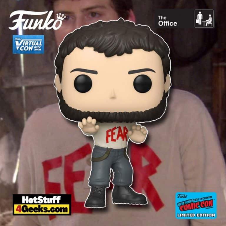 Funko Pop! Animation: Television: The Office - Mose Schrute Funko Pop! Vinyl Figure Funko Virtual Con NYCC 2021 – GameStop Shared Exclusiv