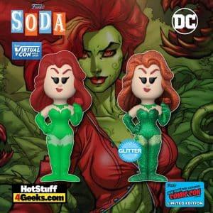 Funko Vinyl Soda! DC: Poison Ivy Funko Vinyl Soda Figure is a Funko Virtual Con NYCC 2021 – Hot Topic Shared Exclusive