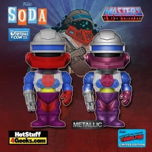 Funko Vinyl Soda! Masters of The Universe - Roboto Funko Vinyl Soda Figure is a Funko Virtual Con NYCC 2021 – Toy Tokyo Shared Exclusive