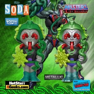 Funko Vinyl Soda! Masters of The Universe - Snake Face Funko Vinyl Soda Figure is a Funko Virtual Con NYCC 2021 – Entertainment Earth Shared Exclusive