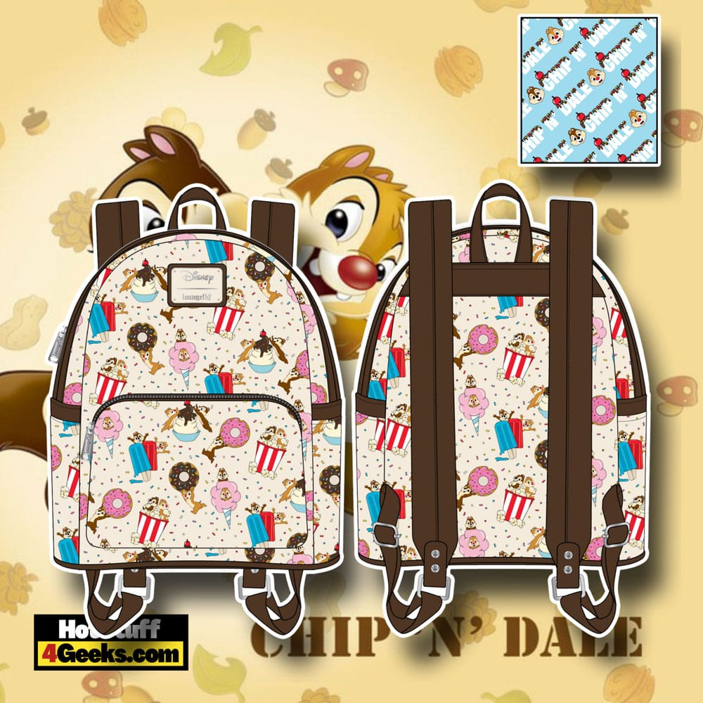 Loungefly Disney Chip and Dale Sweet Treats Mini Backpack