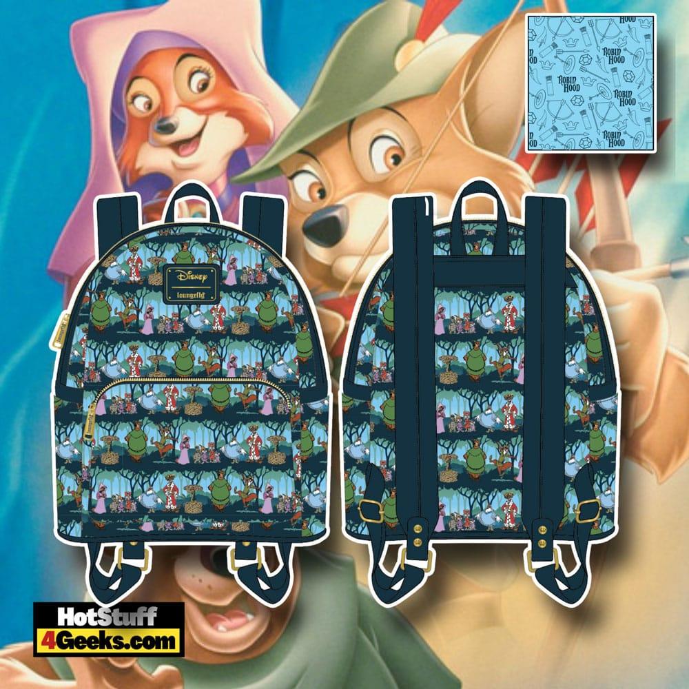 Loungefly Disney Robin Hood Sherwood Mini Backpack