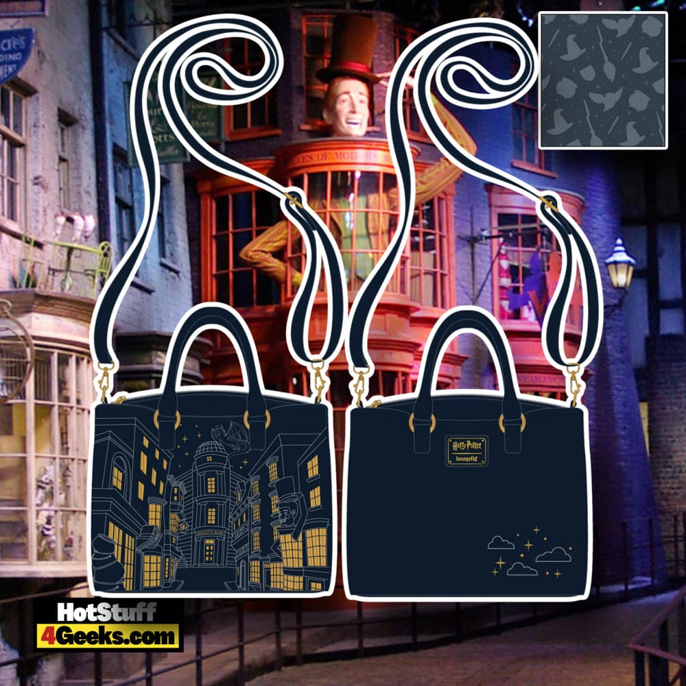 Loungefly Harry Potter Diagon Alley Crossbody Bag