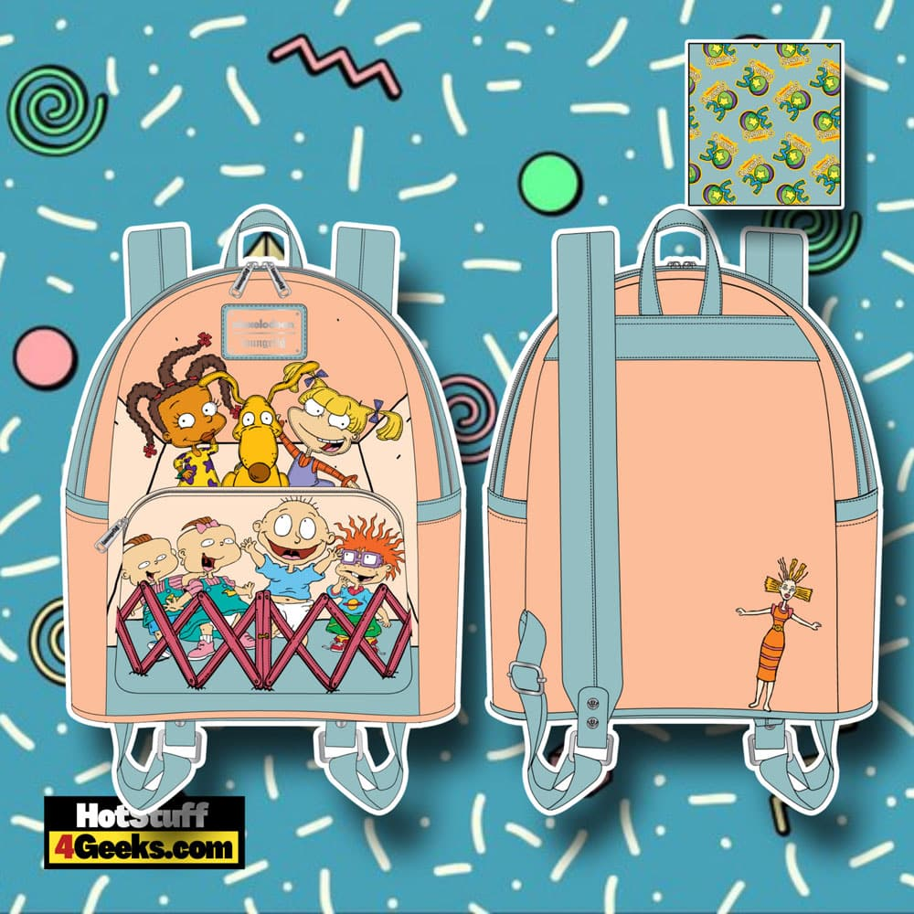 Loungefly Nickelodeon Rugrats 30th Anniversary Mini Backpack