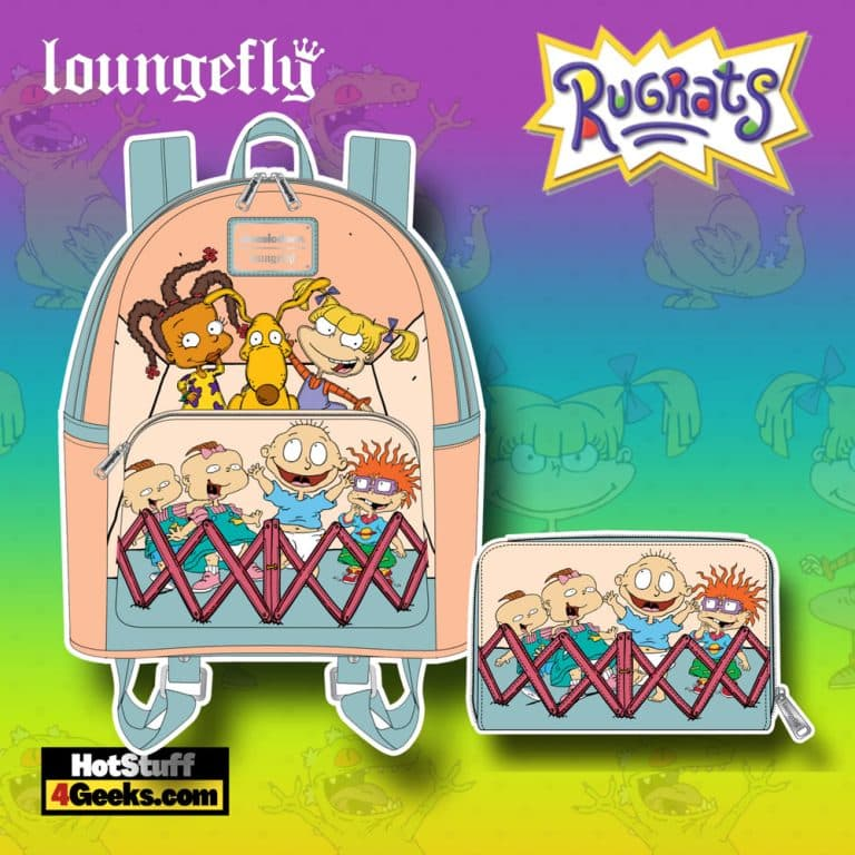 Loungefly Nickelodeon Rugrats 30th Anniversary Mini Backpack, and Wallet - November 2021 Pre-Orders