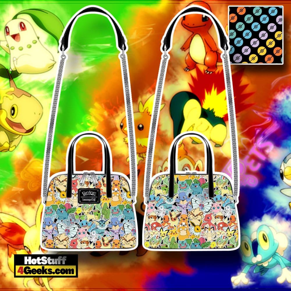 Loungefly Pokémon Ombre Crossbody Bag