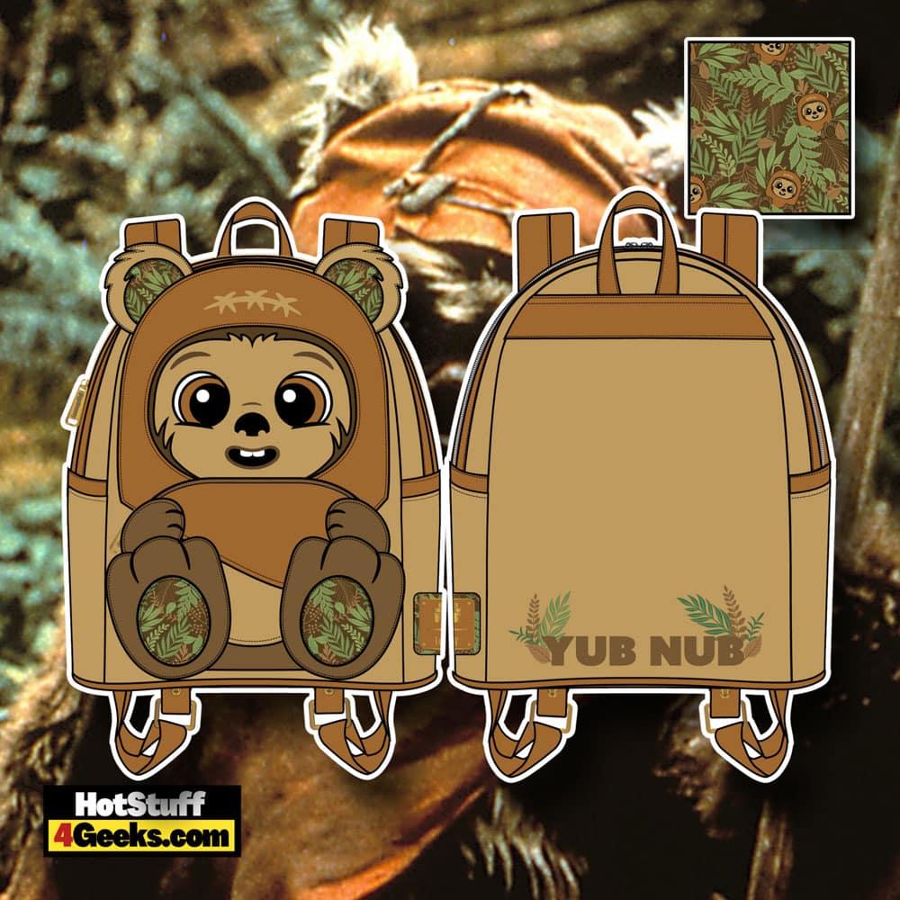 Loungefly Star Wars Wicket W. Warrick Cosplay Mini Backpack