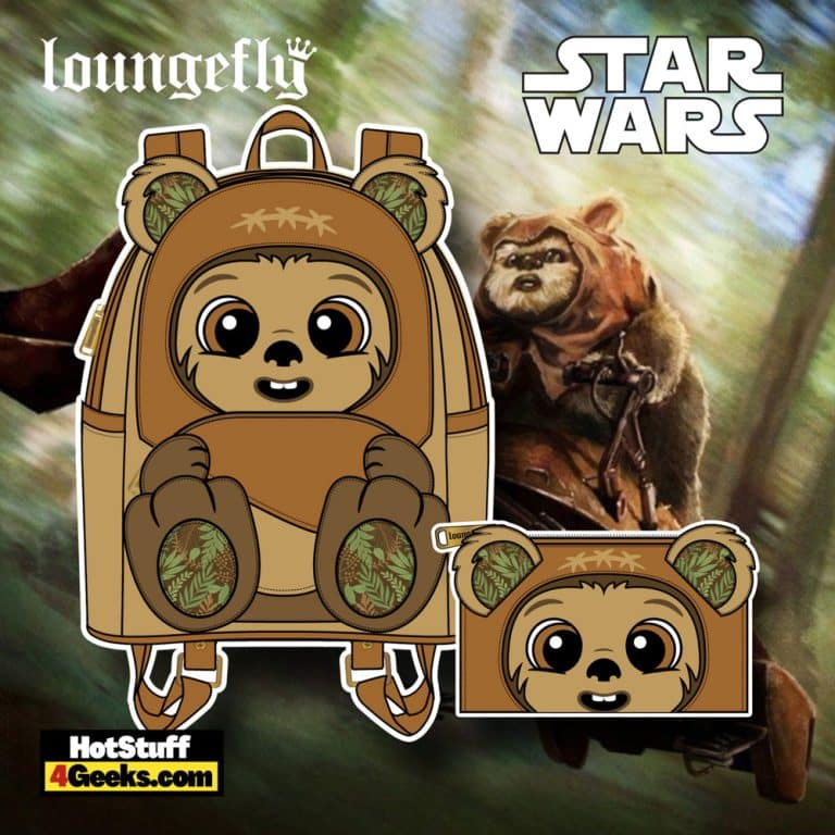 Loungefly Star Wars Wicket W. Warrick Mini Backpack, and Wallet - November 2021 Pre-Orders
