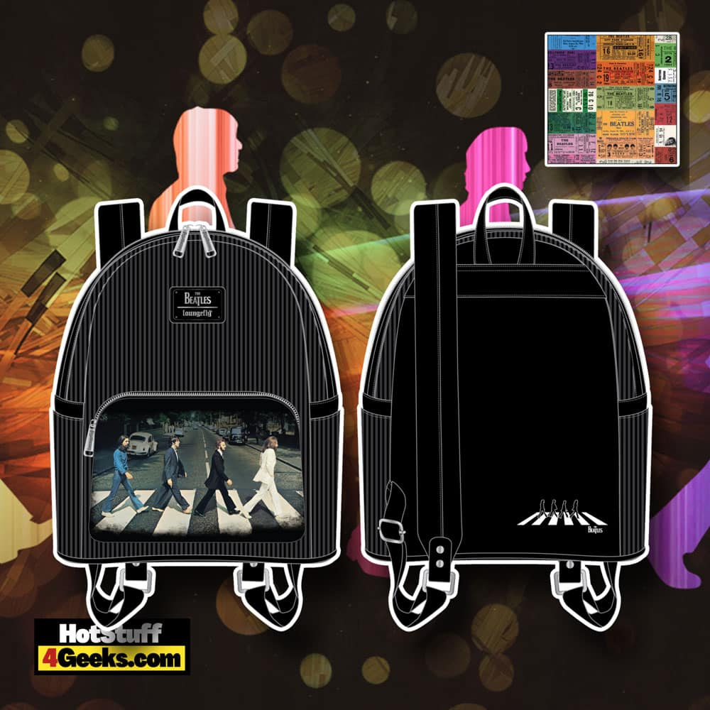 Loungefly The Beatles Abbey Road Mini Backpack