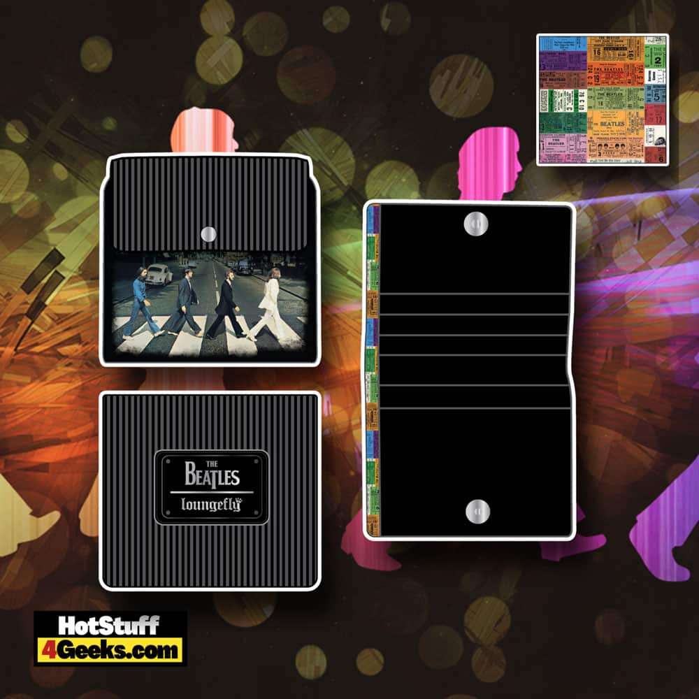 Loungefly The Beatles Abbey Road Zip Around Wallet