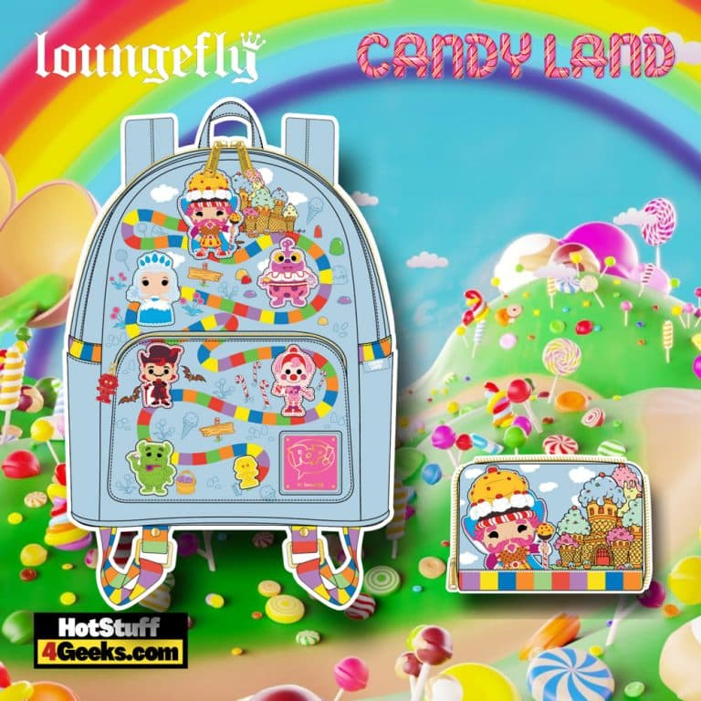 """Pop! by Loungefly Hasbro Candy Land """"Take Me to The Candy"""" Mini Backpack, and Wallet - November 2021 Pre-Orders"""