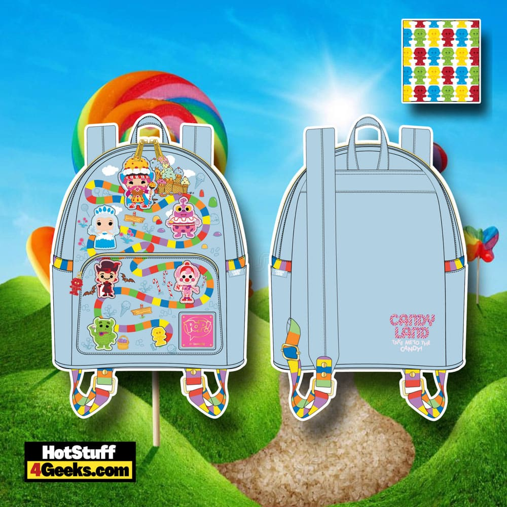 Pop! by Loungefly Hasbro Candy Land Take Me to The Candy Mini Backpack