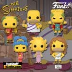 Funko Pop! Animation: The Simpsons – Bartigula Bart, Emperor Montimus, Lisandra Lisa, Marjora Marge, Obeseus Homer, and Buff Homer (Amazon Exclusive) Funko Pop! Vinyl Figures