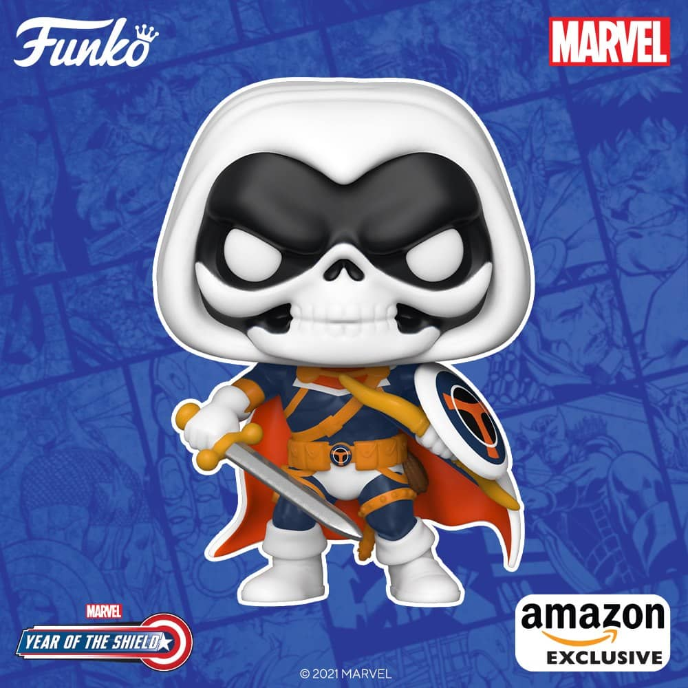 Funko Pop! Marvel: Year of The Shield - Taskmaster Funko Pop! Vinyl Figure - Amazon Exclusive